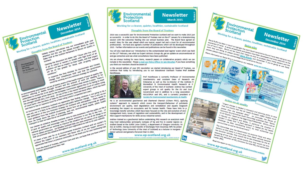Newsletter environmental protection scotland eps newsletter montage thecheapjerseys Choice Image