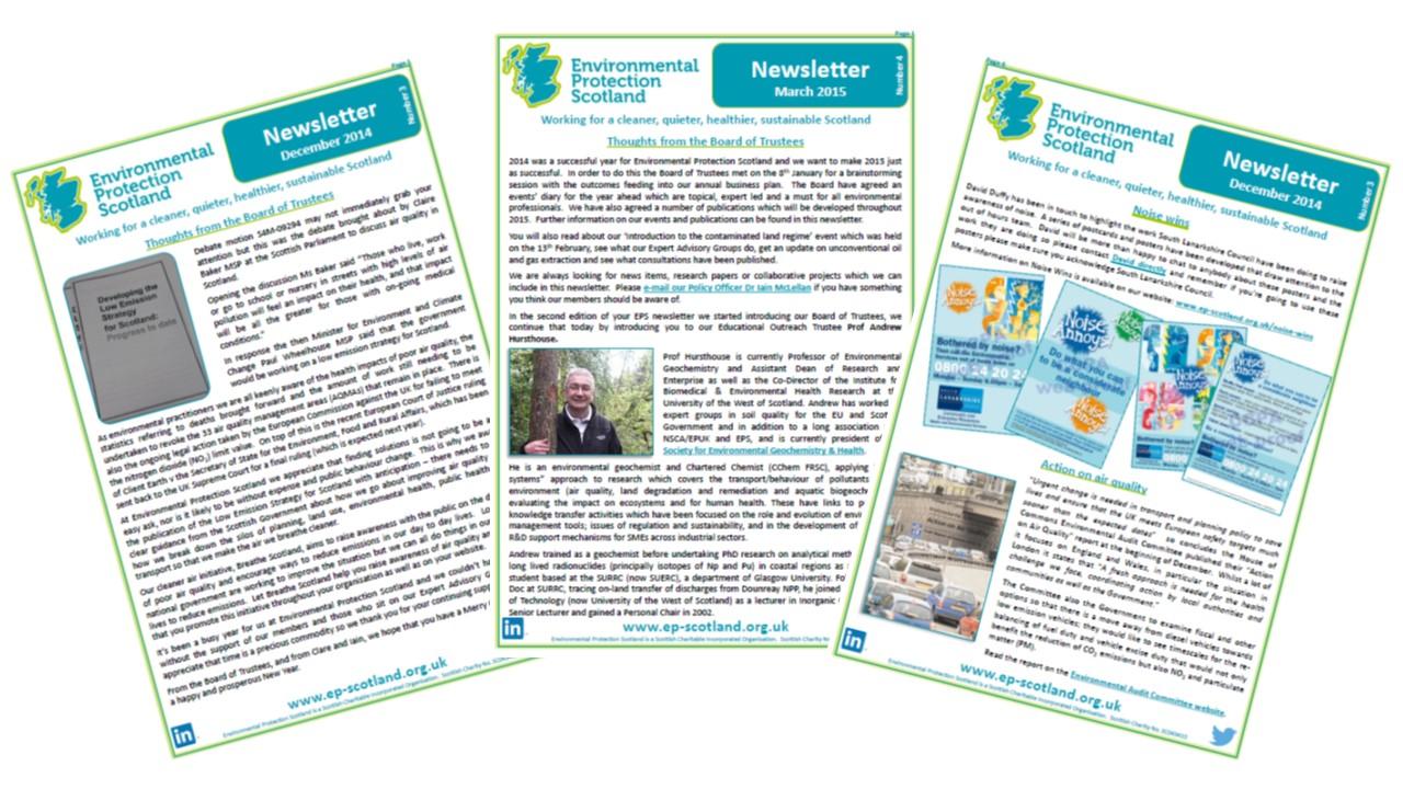 newsletter environmental protection scotland eps