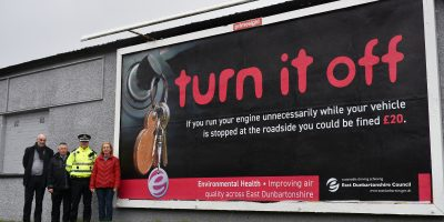 East Dunbartonshire cracks down on vehicle idling